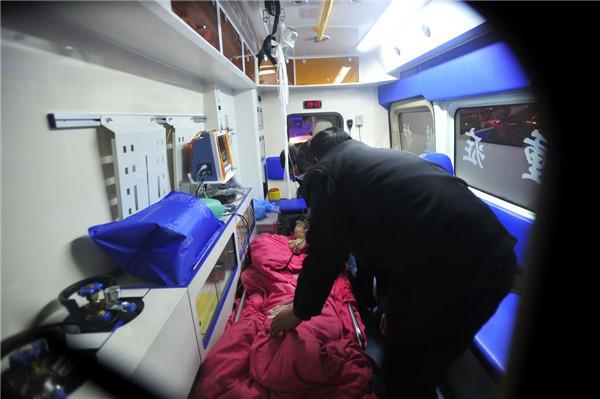西安跨省120救护车转运收费,长途救护车出租