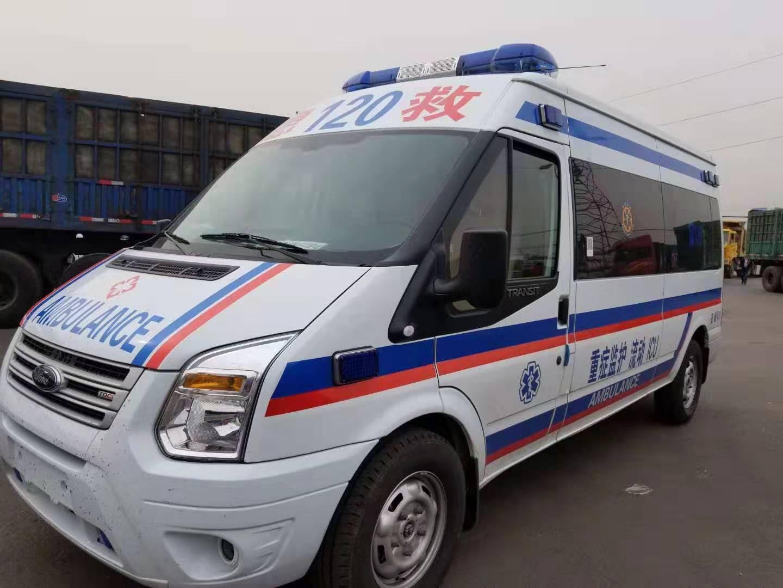 新闻:信阳跨省120救护车转诊,转院出院护送服务