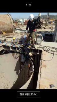 玉溪水下工程-水下切割拆除混凝土管道多少钱/价格