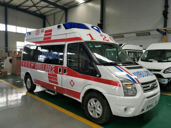 江门长途跨省120救护车转运-各种转院-出院返乡