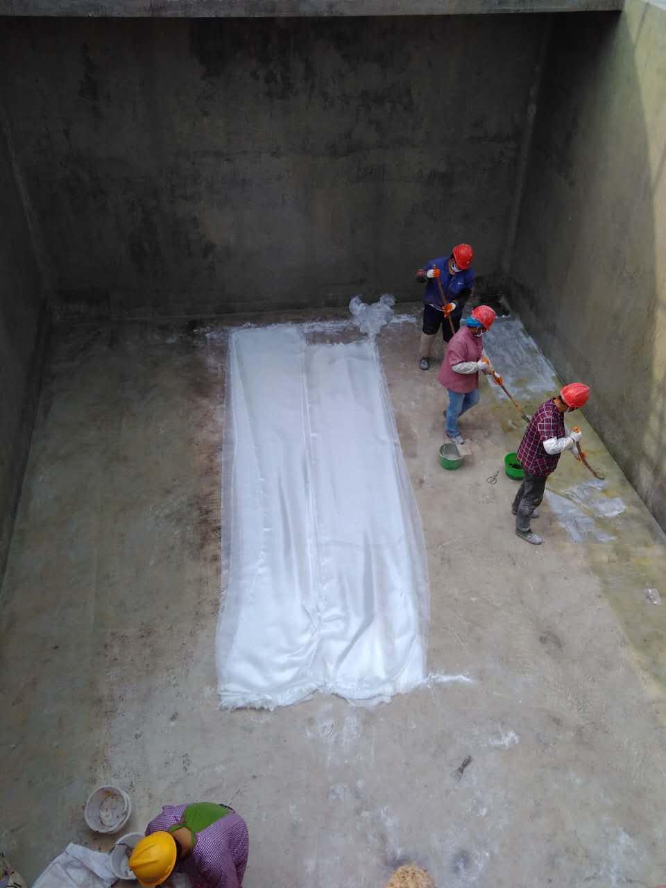 郴州垃圾填埋场水池防腐施工做法