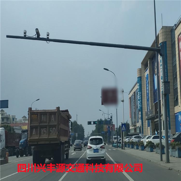 甘孜藏族自治州丹巴县弱电监控箱5*2米交通监控杆包运输包卸货