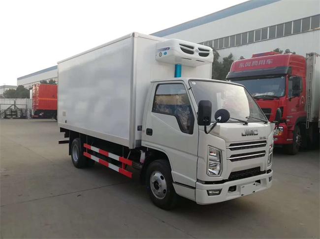 贵州遵义庆铃冷藏车生产商视频图片