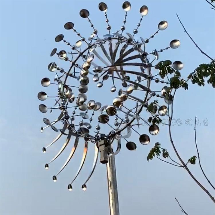 不锈钢风动艺术雕塑厂家-山东风动雕塑厂家