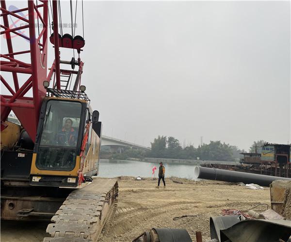 2021年合作:阳泉水下沉块安装——群策群力