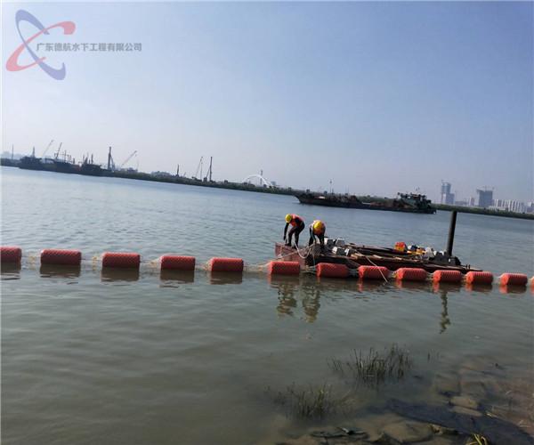 2021年合作:福州水下开槽铺设管道——群策群力