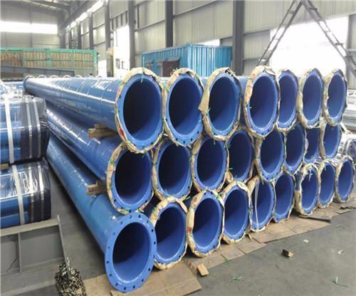 贵州省遵义市输水工程用防腐螺旋钢管每米价格