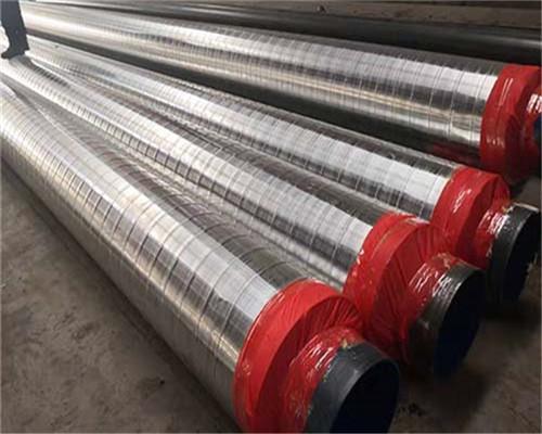 820*6小区供暖用保温钢管生产厂家新2021