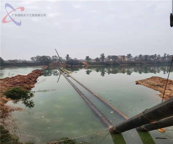 2021年合作:七台河过河段管道水下安装——建筑尽显人类
