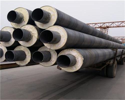 耐高温直径820黑夹克保温钢管多少钱一米