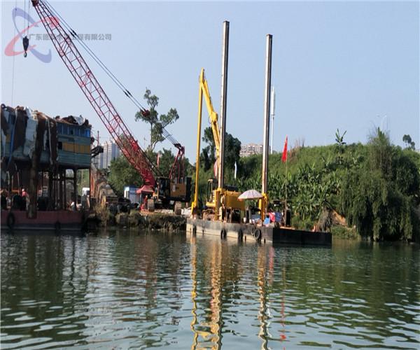 2021年合作:铜陵沉管水下施工——精心施工