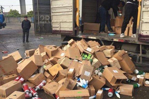 广州黄埔区电器产品销毁处置公司现场销毁
