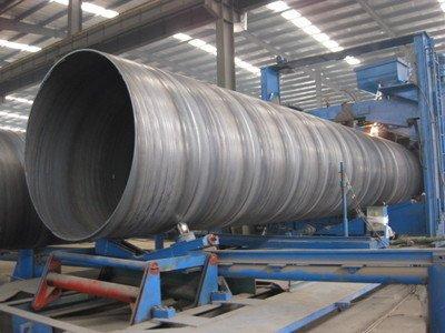 安庆市怀宁县输送管道用Q235B螺旋管定尺价格