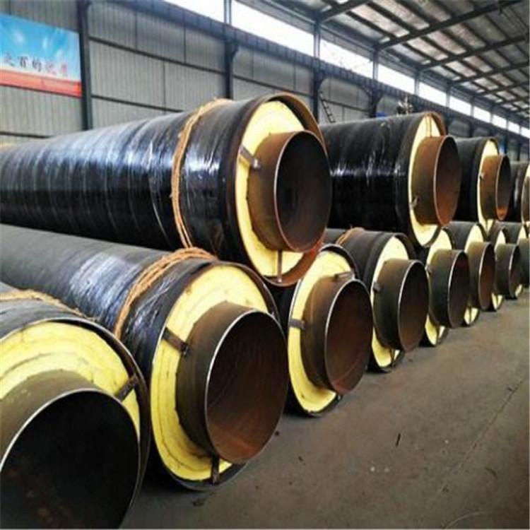 新钢套蒸汽保温管厂家可来图定制钢套钢