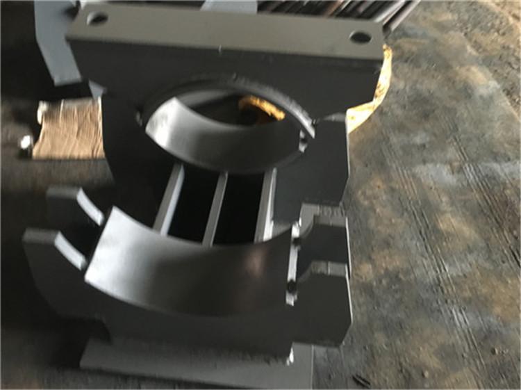桂林灵川Z2.273焊接固定支座安装过程