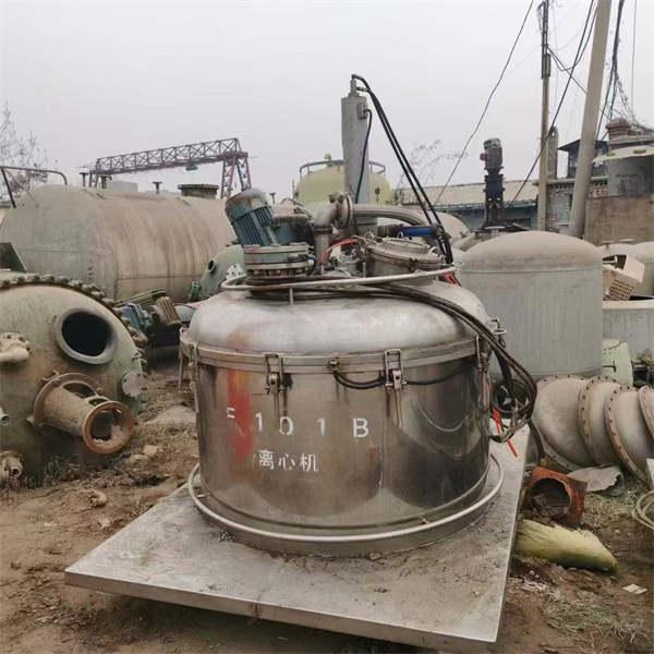 //鹤壁市二手卧式螺旋卸料离心机的回收公司