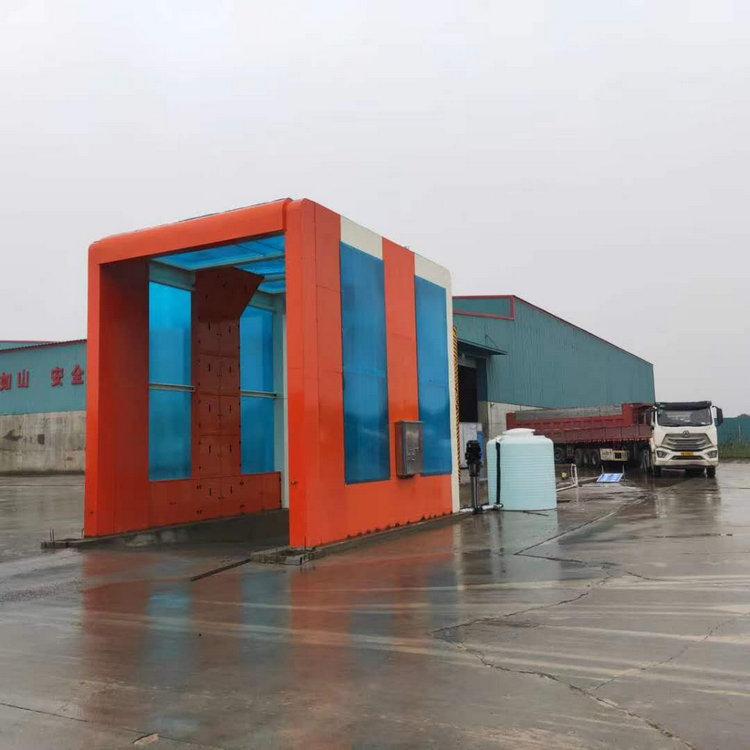 宜阳加油站隧道式洗车机|大门口洗车机定做