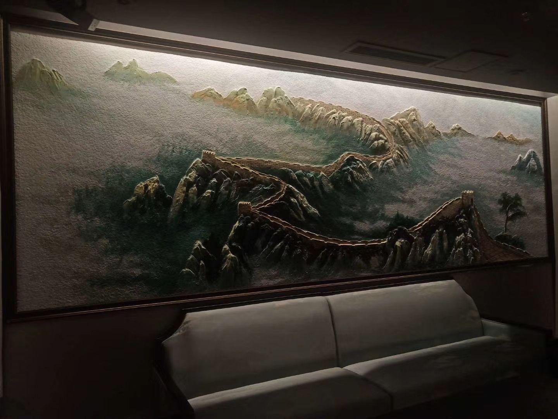 连云港文化园创意园墙面装饰壁画涂鸦施工
