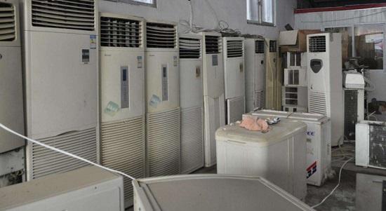 回收拆除:二手空调回收-东莞大朗镇-高价回收空调