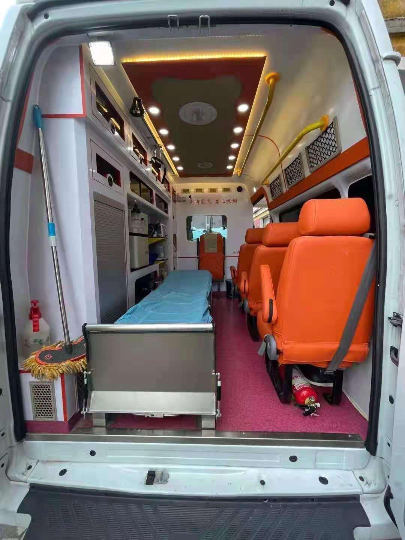 包头私人急救车出租-转院救护车电话号码出院护送