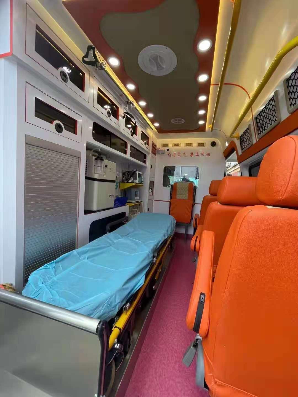 怀化跨省120救护车出租转院租救护车全程高速