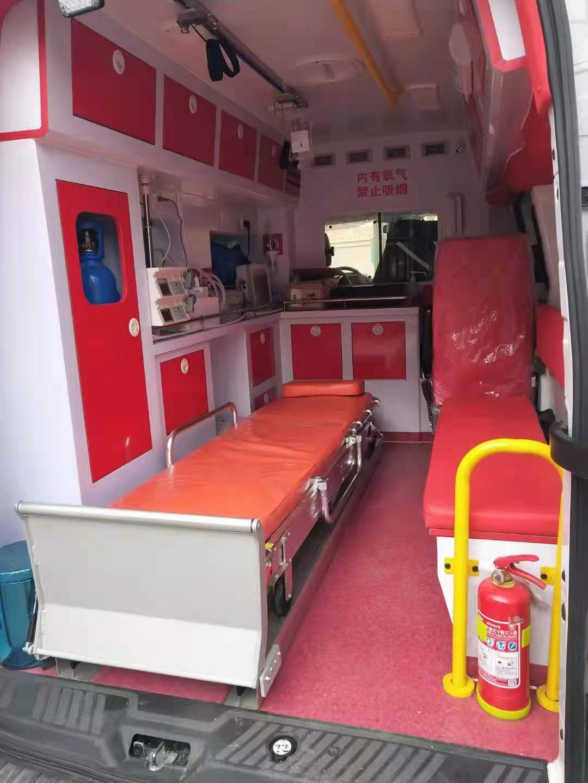 朝阳租救护车要多少钱救护转院救护车出租