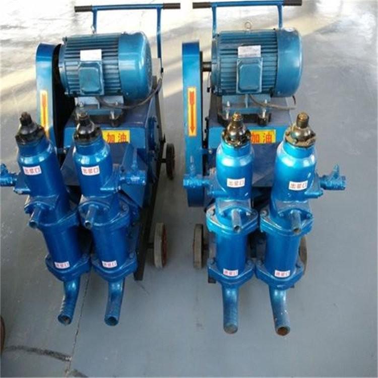 福建南桥梁压浆机灰浆泵HJB-3水泥浆单缸泵
