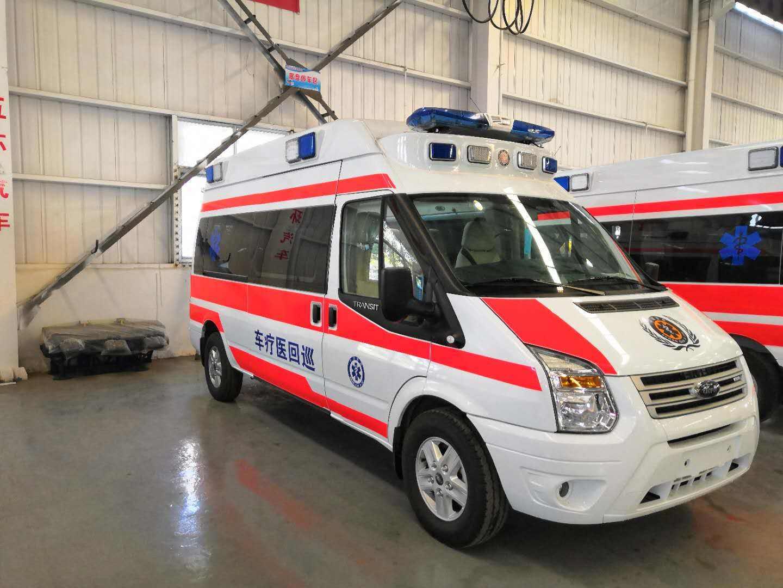 嵊州长途救护车出租——重症120救护车服务预约热线