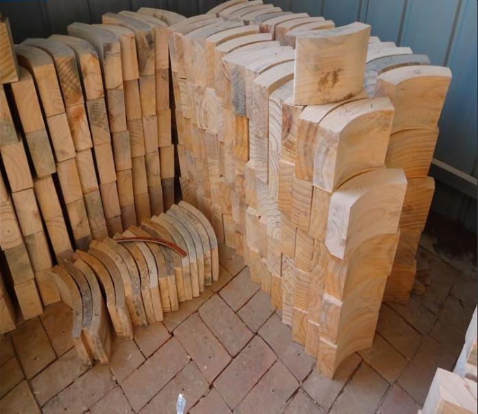 银川贺兰杨木垫木木托含税价格