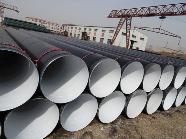 地埋燃气管道用3PE防腐钢管厂家发货九台