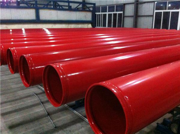 大口径给排水涂塑钢管实体厂家兰州