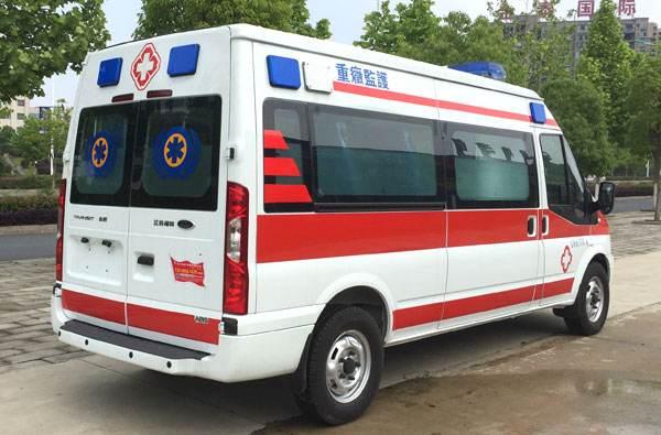 青海120救护车出租电话,转院出院救护车长途转运