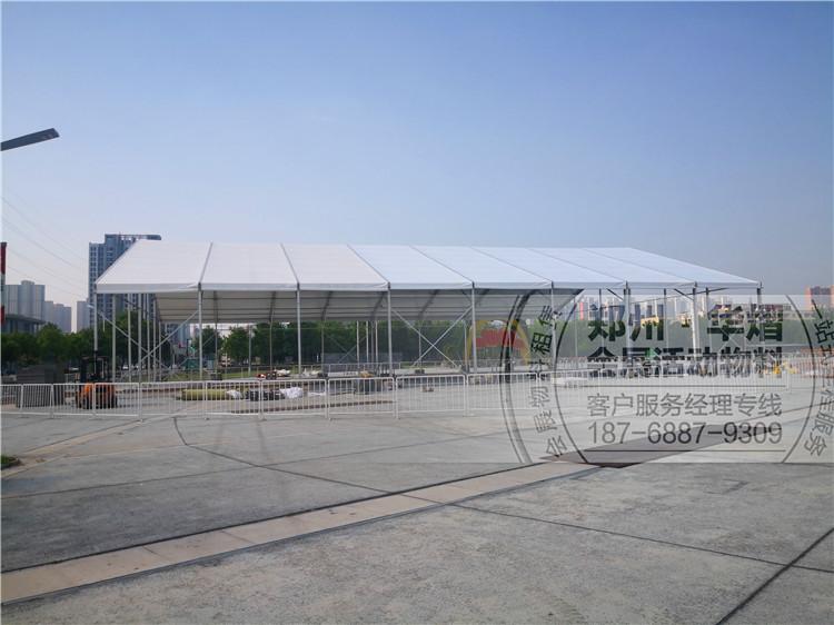 六安市尖顶篷房工厂/会议活动导视牌铁马租赁
