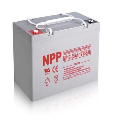 安顺耐普铅酸蓄电池NPG12-65 12v65ah厂家直供