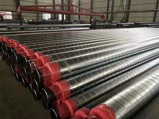钢套钢蒸汽保温管厂家供货-全国发货-玉林市容县