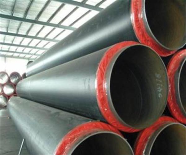 国标直埋保温DN350mm聚氨酯螺旋钢管价格报价一米价格