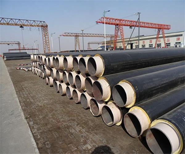 高温直埋式预制保温200mm聚氨酯螺旋管价格报价一米价格