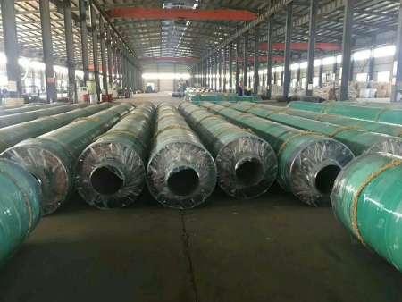高温直埋式预制保温DN1200mm螺旋钢管价格报价一米价格