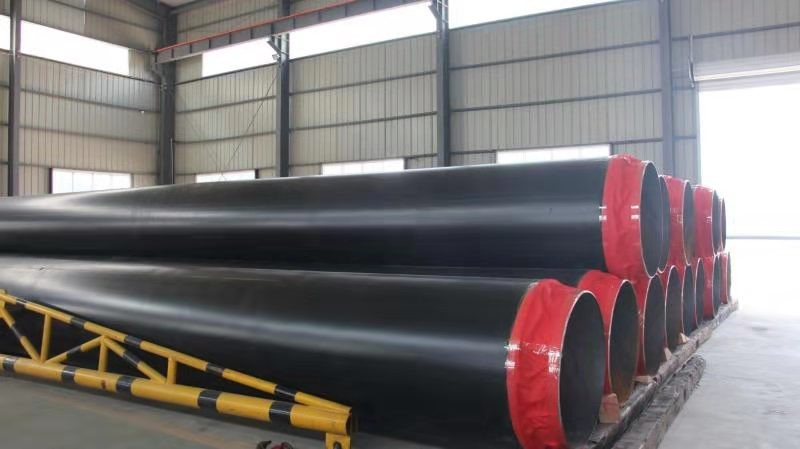 碳钢聚氨酯保温预制直埋保温管现货生产#邢台市
