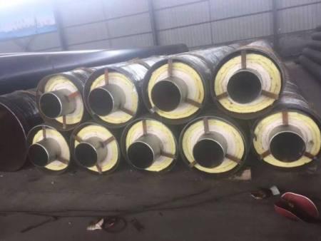 高温直埋式预制保温DN219聚氨酯螺旋管报价一米价格