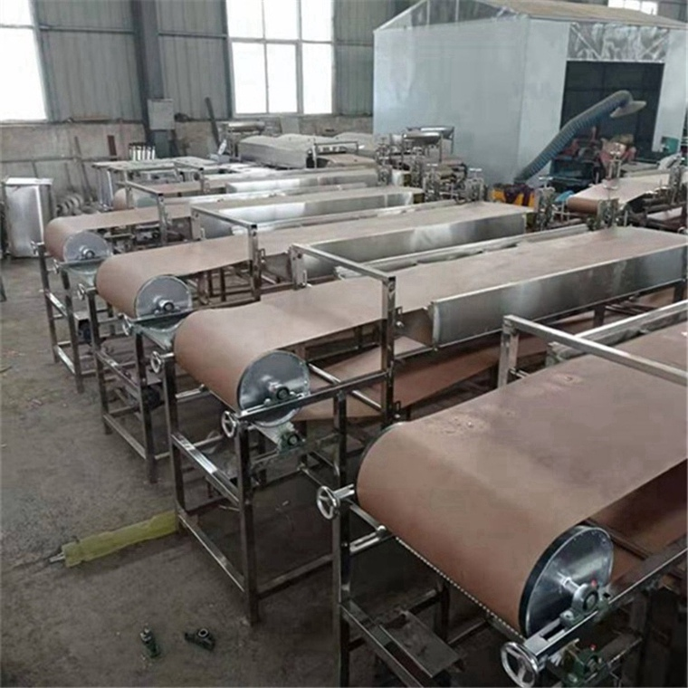 淮北杜集木薯粉皮机园形红著粉皮机视频教程