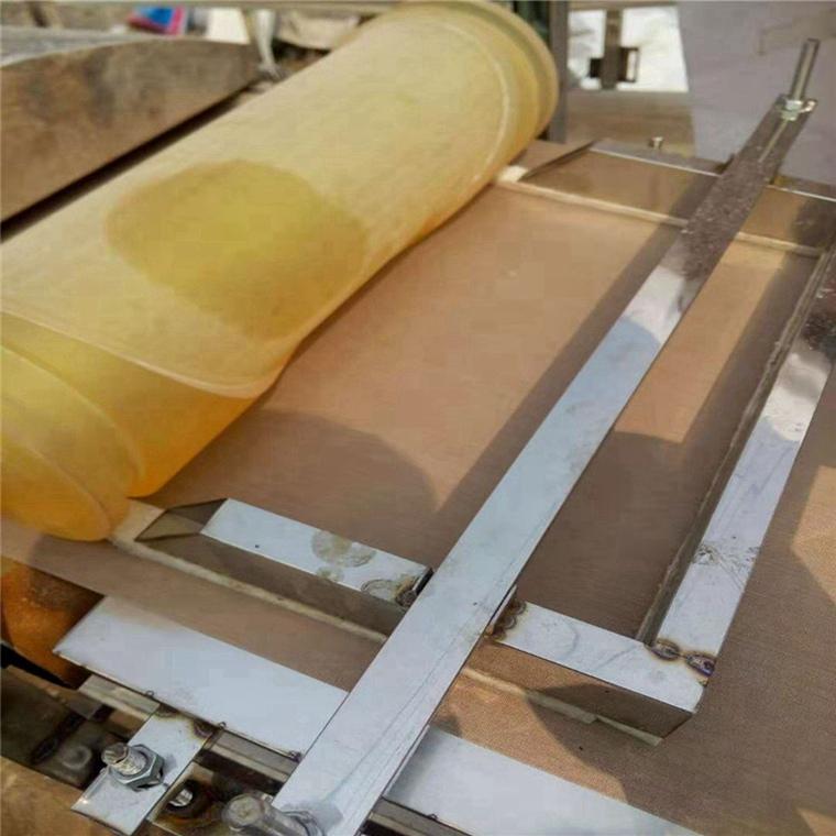 奉节红苕粉皮机园型洋芋粉皮机价位