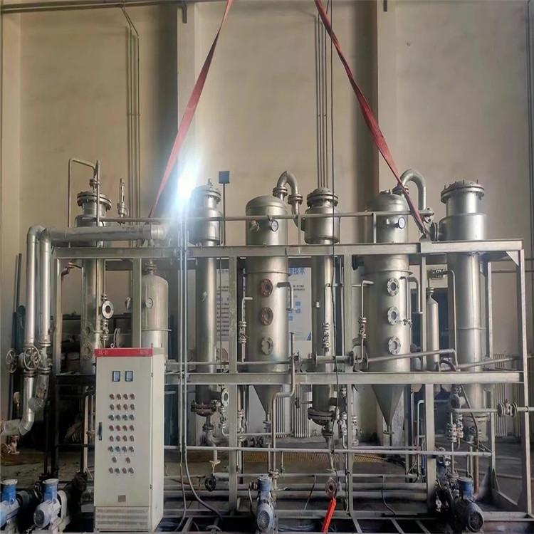 南充蓬安二手二效蒸发器参数及原理价绍