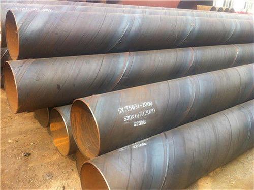 胡杨河-防腐螺旋钢管用电厂饮水管道-供应厂家