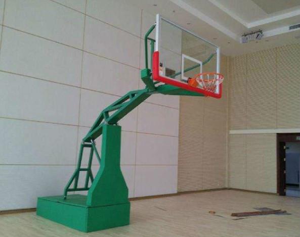 阿克苏地区库车县液压篮球架现货直发