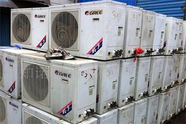 自贡市旧发电机回收包打理现场_【库房废品回收】