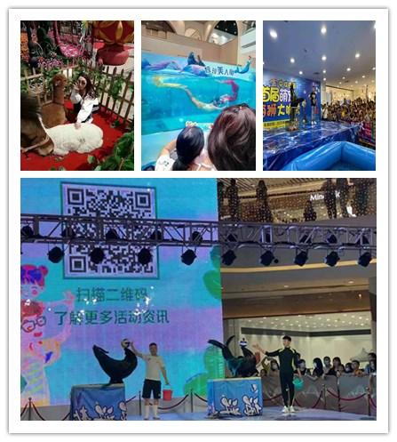 辽宁锦州市美人鱼表演出租租赁海洋节活动