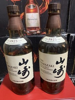 中山市阜沙镇山崎25年空酒瓶回收(麦卡伦系列)酒瓶,盒子