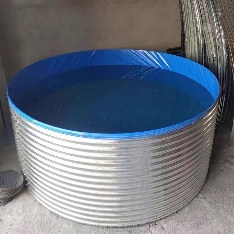 铁山帆布镀锌板水池消毒生产批发