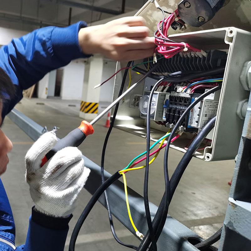 陕西蒲城俯仰机械式立体车库租赁安装_两层机械式停车库制作